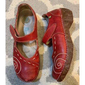 El Naturalista Yggdrasil Boho Leather Mary Janes